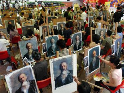 Kína és a világ legnagyobb (ál)művészeti központja Dafen Shenzen 16