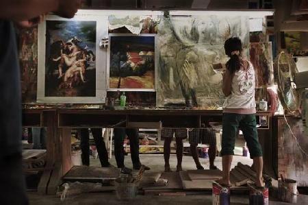 Kína és a világ legnagyobb (ál)művészeti központja Dafen Shenzen 3
