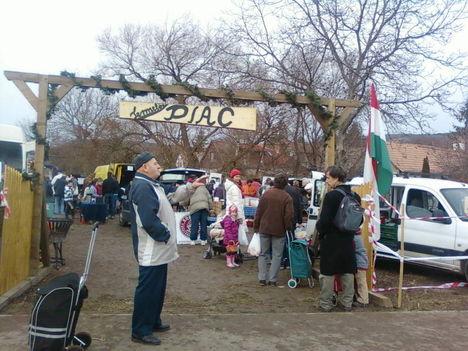 Téli szombati termelői piac Nagykovácsin 2