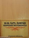 A könyv címe: Balázs Árpád harmadik nótáskönyve