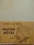 A könyv címe: Varga István vak zenész és zeneszerző magyar nótái