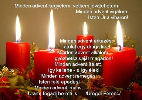 Minden Advent..