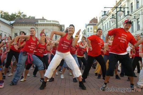 Zumba Szeged Flash mob 7