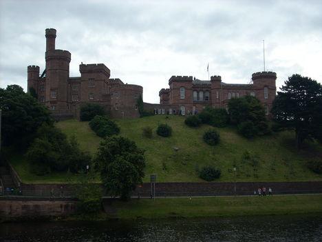 A vár Inverness központjában