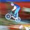 BMX dirt ugratás