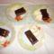 csokis csemege vanília fagyival
