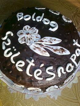 Csokoládés zebratorta