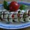 Mozzarella-tekercsek