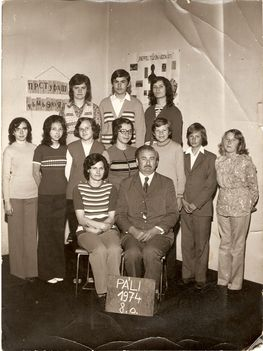 Osztálykép 1974