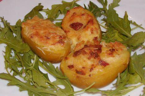 Töltött tepsiskrumpli