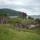 Urquhart romjai, háttérben Loch Ness