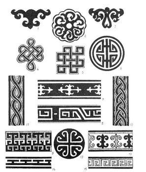 mongol minták