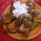 Sült kacsacombok