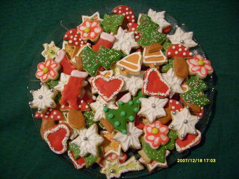 Karácsonyi kekszek 1