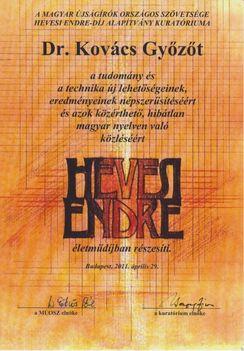 Kovács Győző informatika népszerűsítés