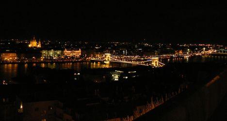 Dunaparti fények