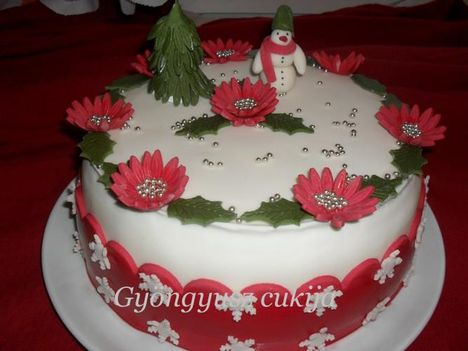 karácsonyi torta 1