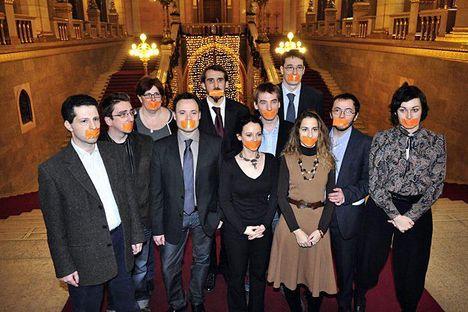 lmp aktivisták figyelmeztetése a kormánynak a szólásszabadság lábbal tiprása ellen