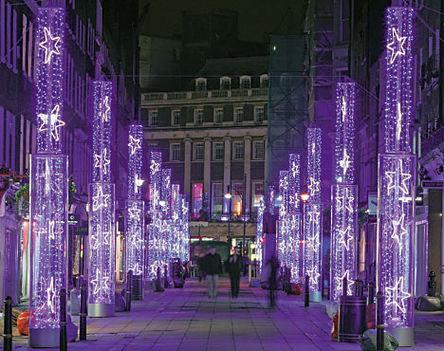 London ünnepi fényei