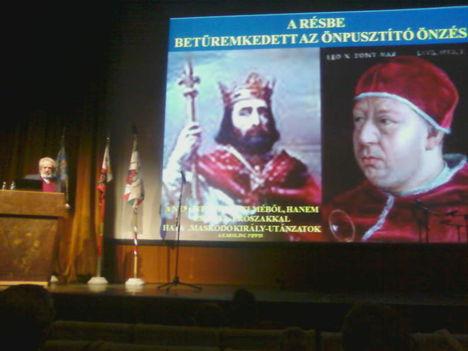 A Szent Korona ünnepén 2012. január 8