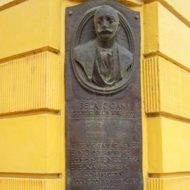 Béla cigány, Alternatív név: Czutor Béla-emléktábla