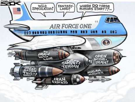 Amerikai repülő Irán fölött egyenlőre elméletben