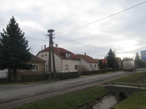 A Sorompó azaz a Rákóczi utca eleje