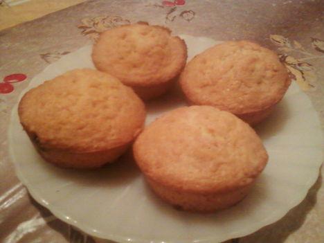 Mazsolás muffin