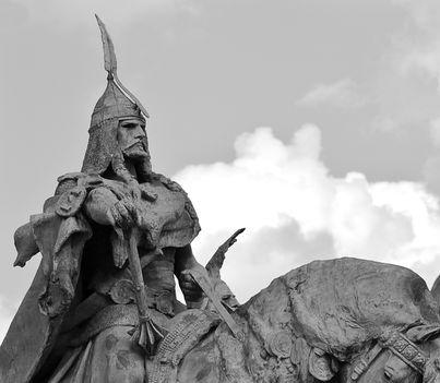 Árpád vezér,Hősök tere