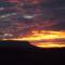 Hajnali fény a Badacsony felett