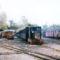 2.rész_   A gazdasági vasút kapuvári végállomása 1978 õszén, jobbra a GySEV-állomás.