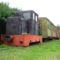5.részAz öntésmajorban kiállított egykori gazdasági vasúti jármûvek, sajnos eléggé romos állapotban.