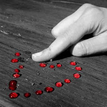 kirakott szív