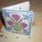 Tulipános tűtartó 2