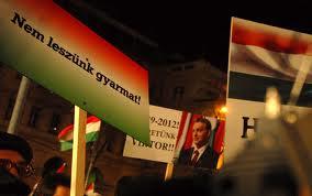 Béketüntetés 2012. január 4