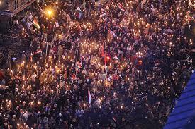 Százezres kormánypárti tüntetés Budapesten 6