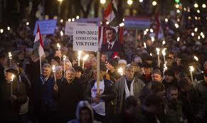 Százezres kormánypárti tüntetés Budapesten 7