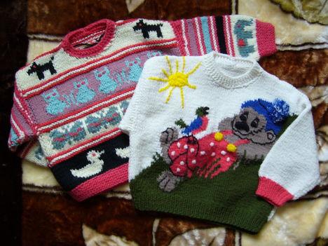 089- Állatfigurás és macis pulcsi
