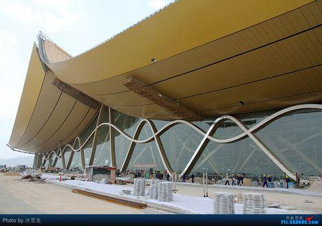Az épülő Kunming Changshui International Airport 8