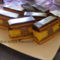 Csíkos-mézes sütemény
