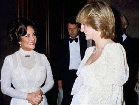 Elizabeth Taylor, Diana