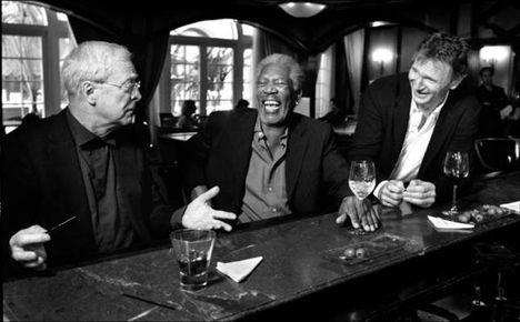 Michael Caine, Morgan Freeman, Liam Neeson