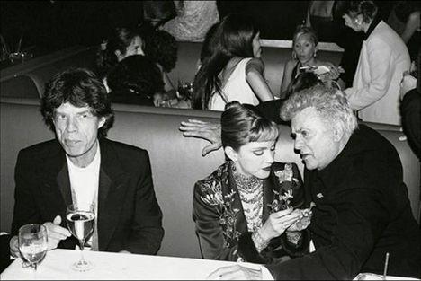 Mick Jagger, Madonna, Tony Curtis
