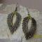 Peyote füli oliva