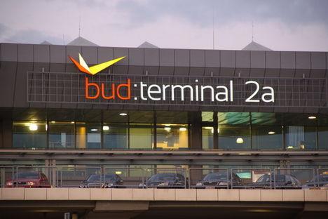 Az új Budapest Airport logó