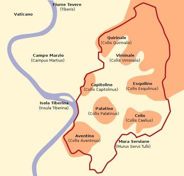 Róma hét dombja