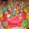 Tortaasztal a szülinapi bulin