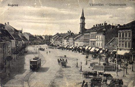 Villamosok Sopronban