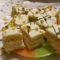 Narancsos-tejfölös kocka