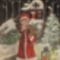 Karácsony éjjel az erőben /képeslap/